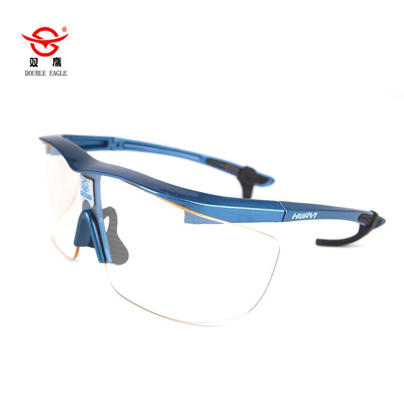 铅眼镜可以和近视镜一起佩戴吗